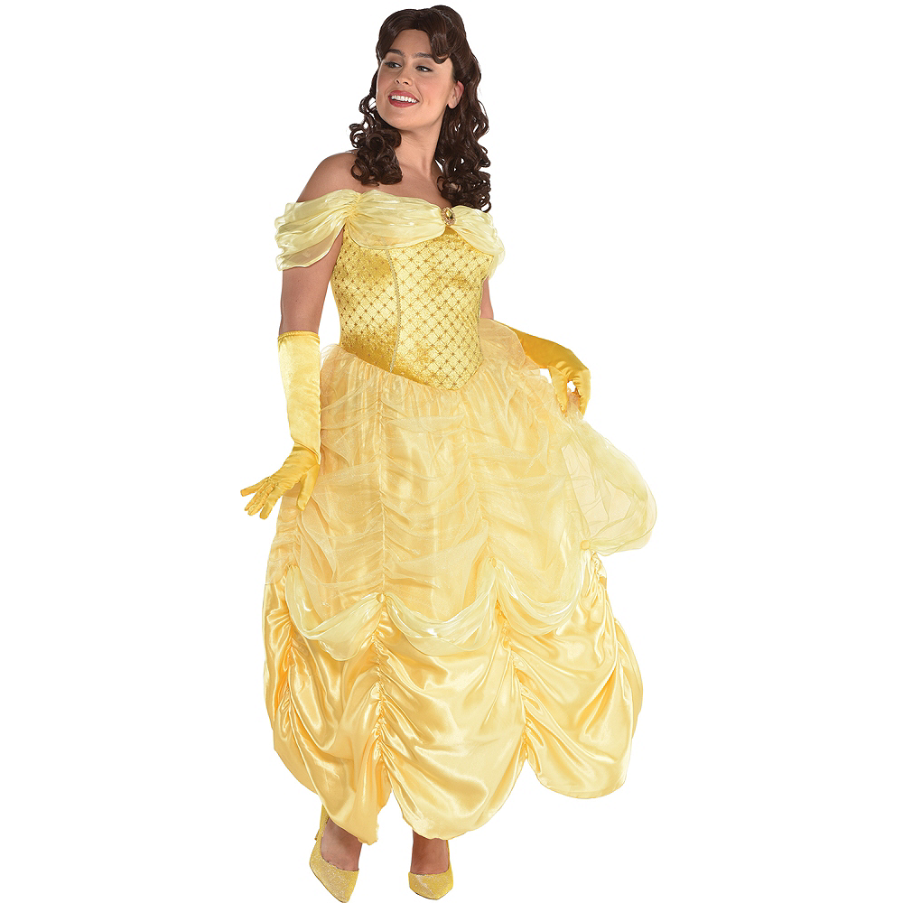 Womens Belle Costume Plus Size - Beauty and the Beast Image #1