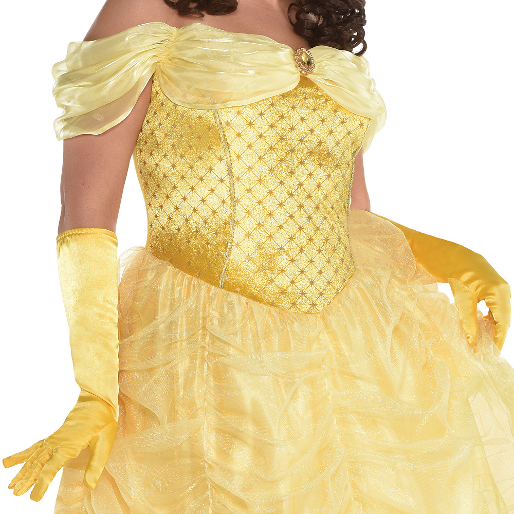 Womens Belle Costume Plus Size - Beauty and the Beast Image #2