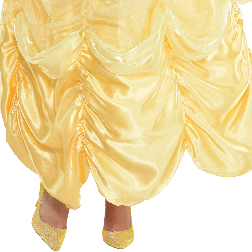 Womens Belle Costume Plus Size - Beauty and the Beast Image #3