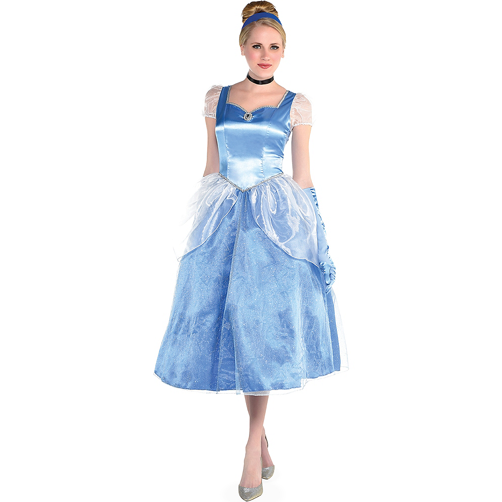 Nav Item for Womens Cinderella Costume - Cinderella Image #1
