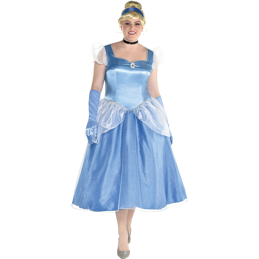Nav Item for Womens Cinderella Costume Plus Size - Cinderella Image #1