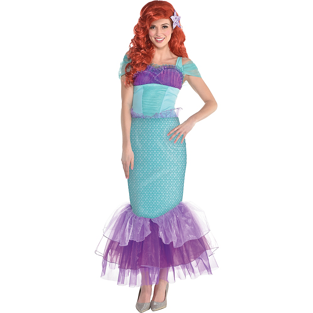 Womens Ariel Costume - The Little Mermaid Image #1