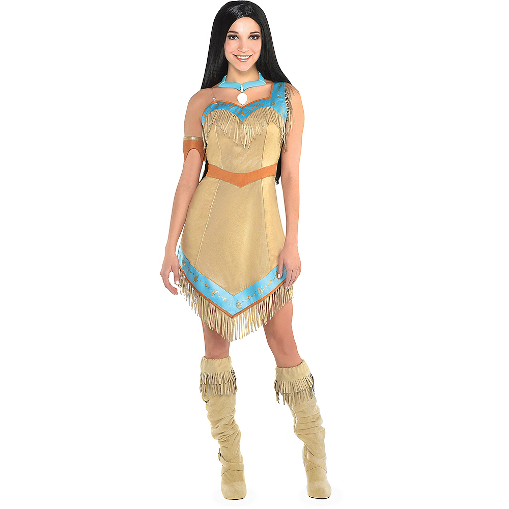 efad58fba77 Nav Item for Womens Pocahontas Costume Image  1 ...