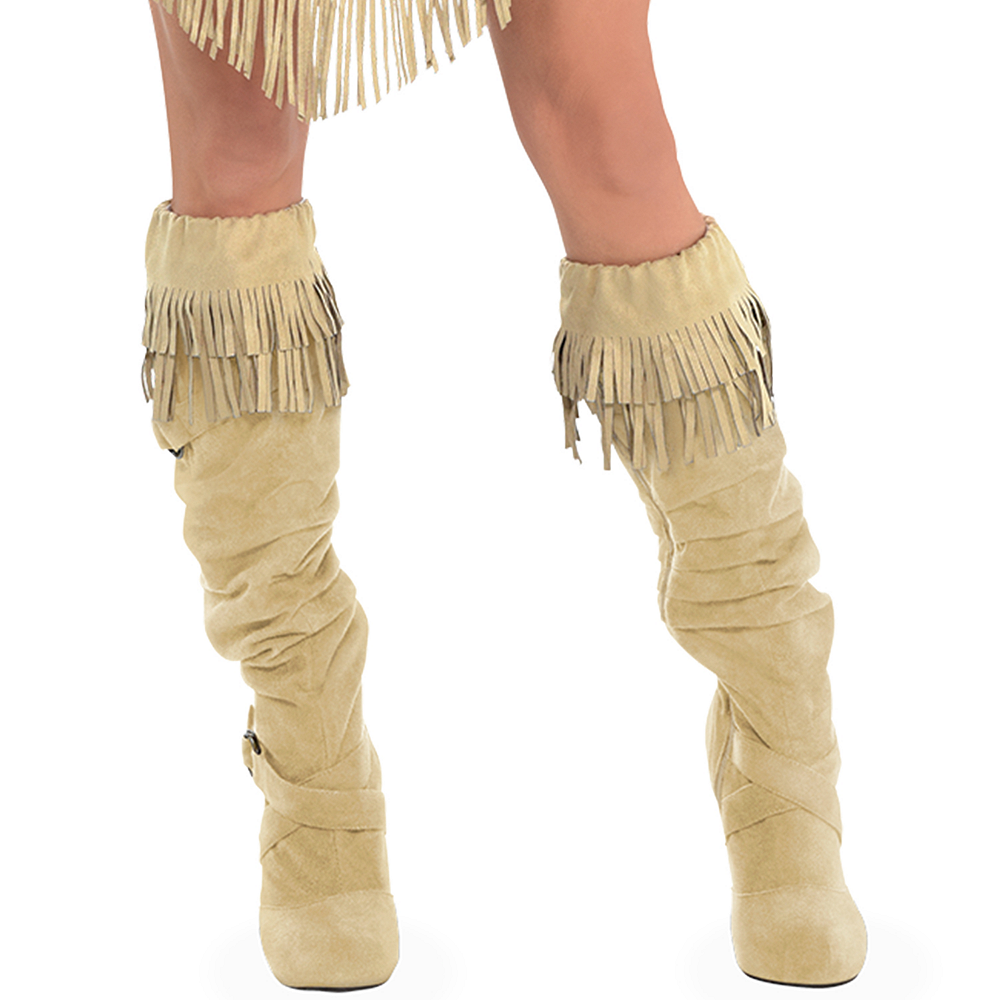 Nav Item for Womens Pocahontas Costume Image #4