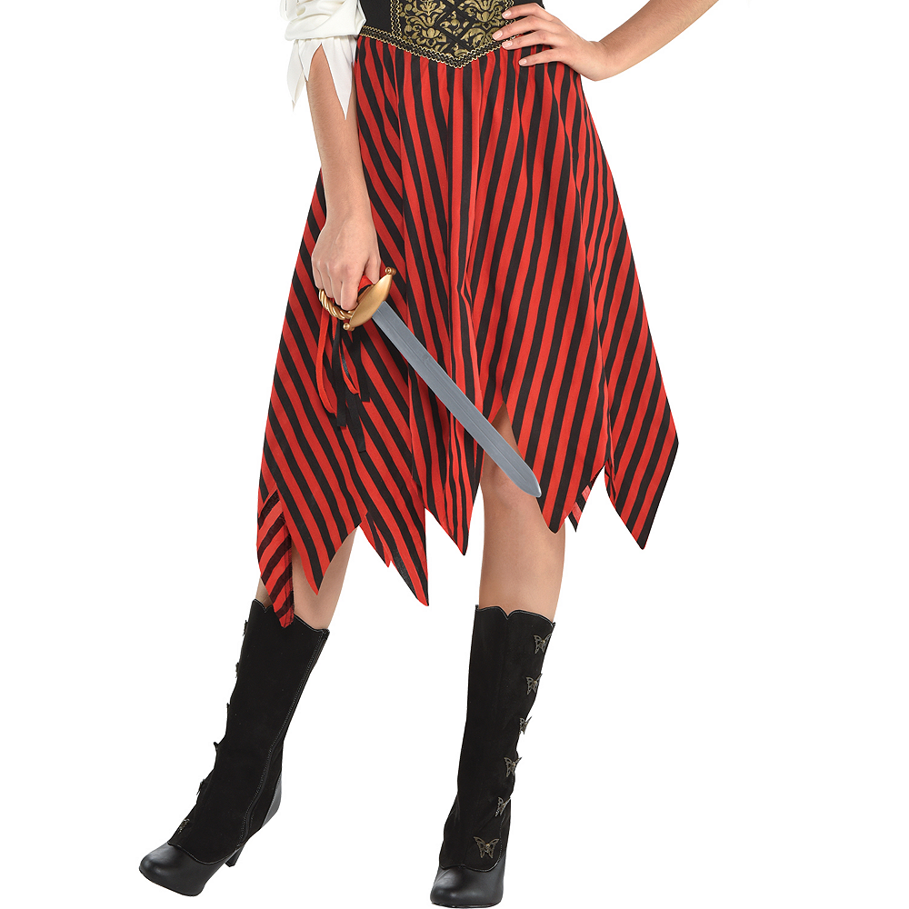 Nav Item for Womens Beauty Pirate Costume Image #3
