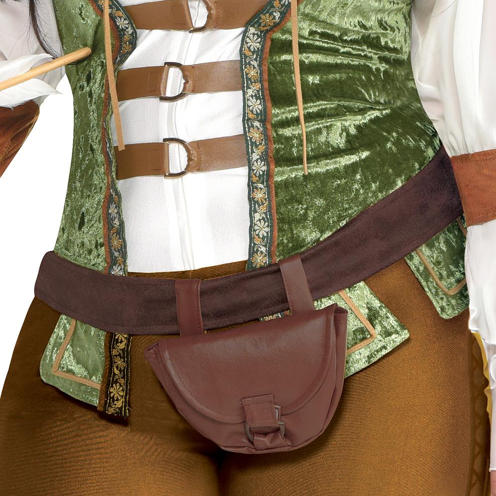 Womens Robin Hood Huntress Costume Plus Size Image #4