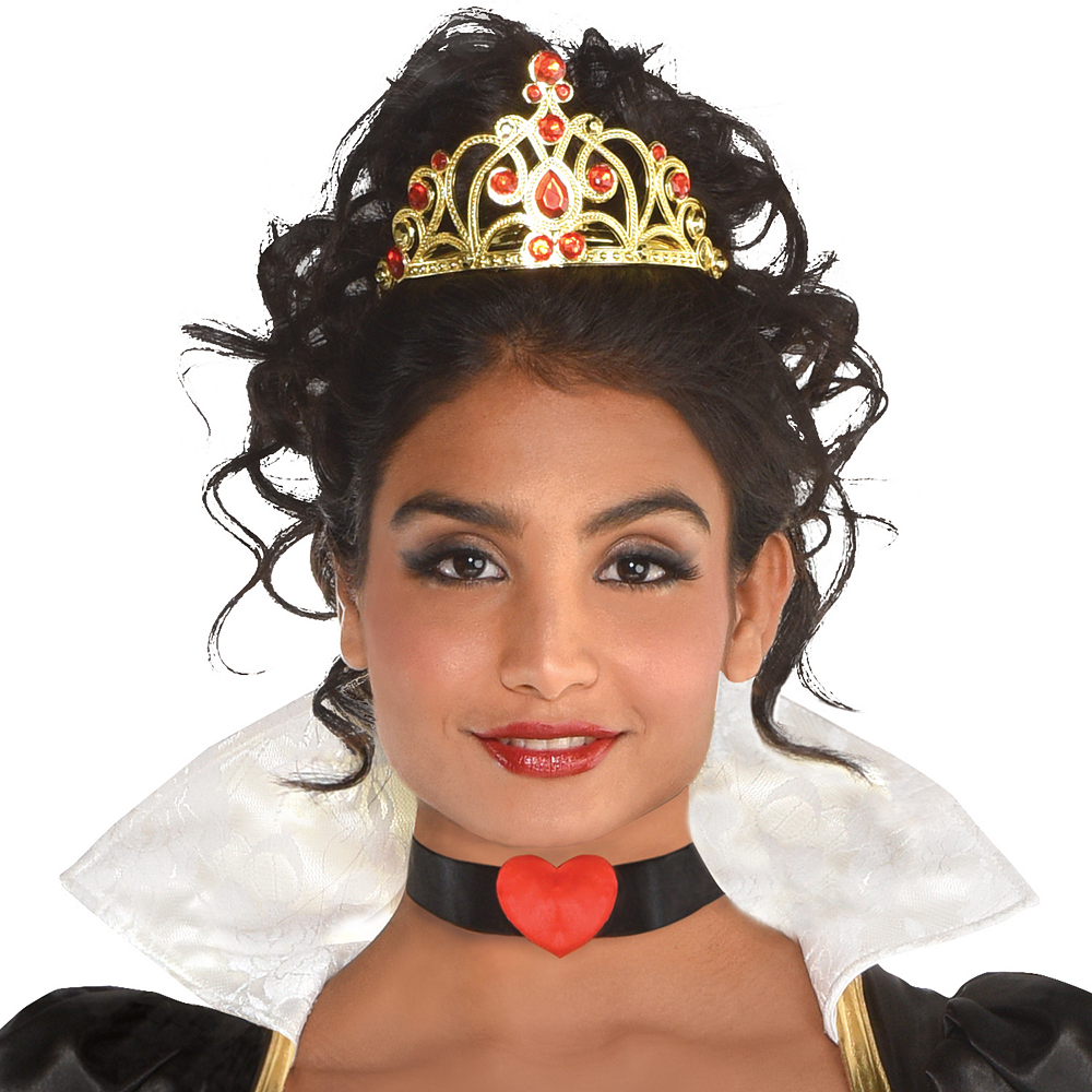 Womens Red Queen Costume Image #4
