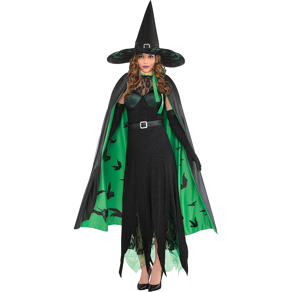 Nav Item for Womens Wicked Witch Costume - The Wizard of Oz Image #1
