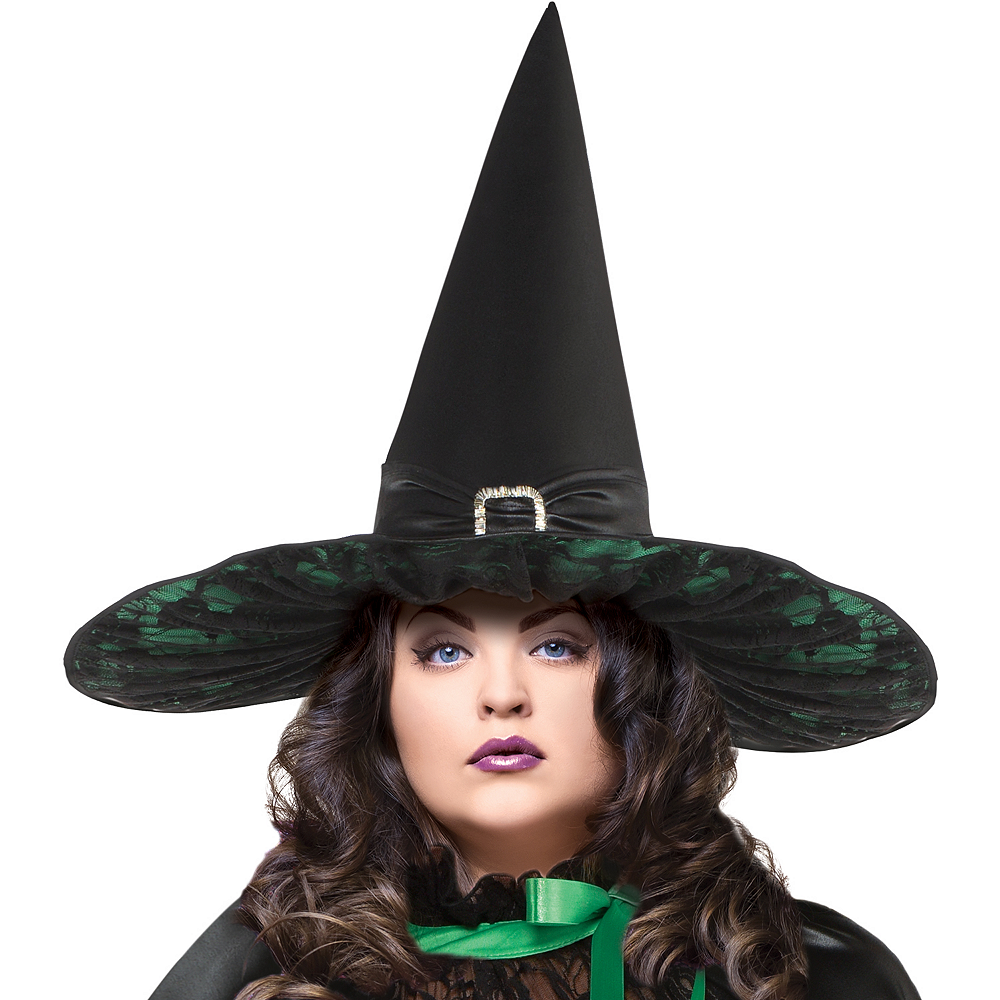 Womens Wicked Witch Costume Plus Size - The Wizard of Oz Image #2