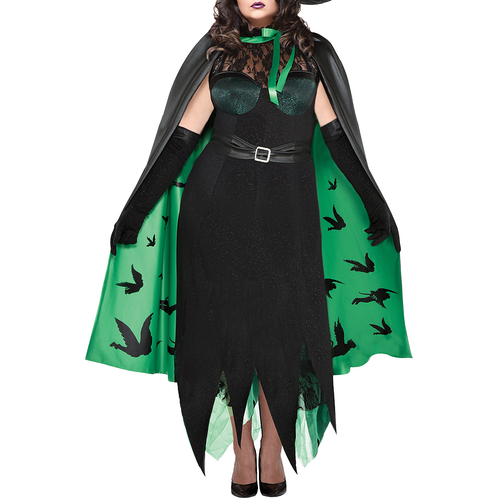 Womens Wicked Witch Costume Plus Size - The Wizard of Oz Image #3