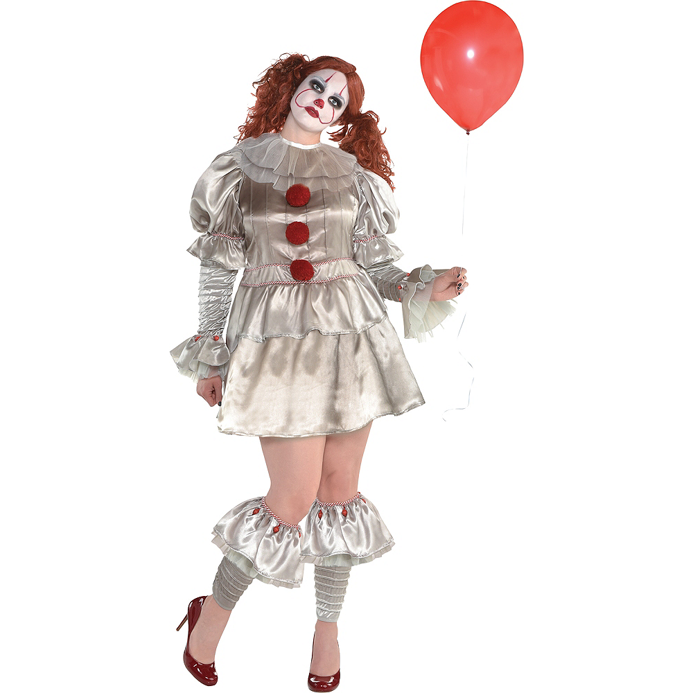 Womens Pennywise Costume Plus Size - IT Image #1