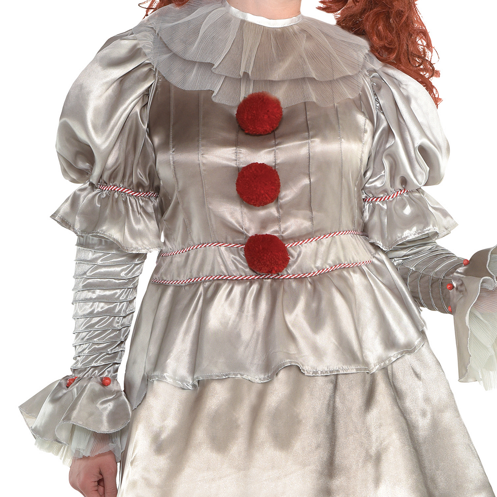 Womens Pennywise Costume Plus Size - IT Image #2