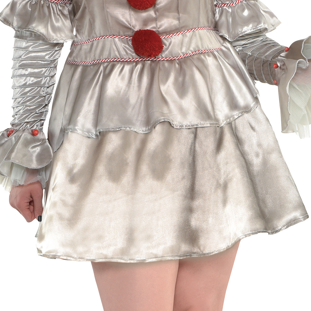 Womens Pennywise Costume Plus Size - IT Image #3