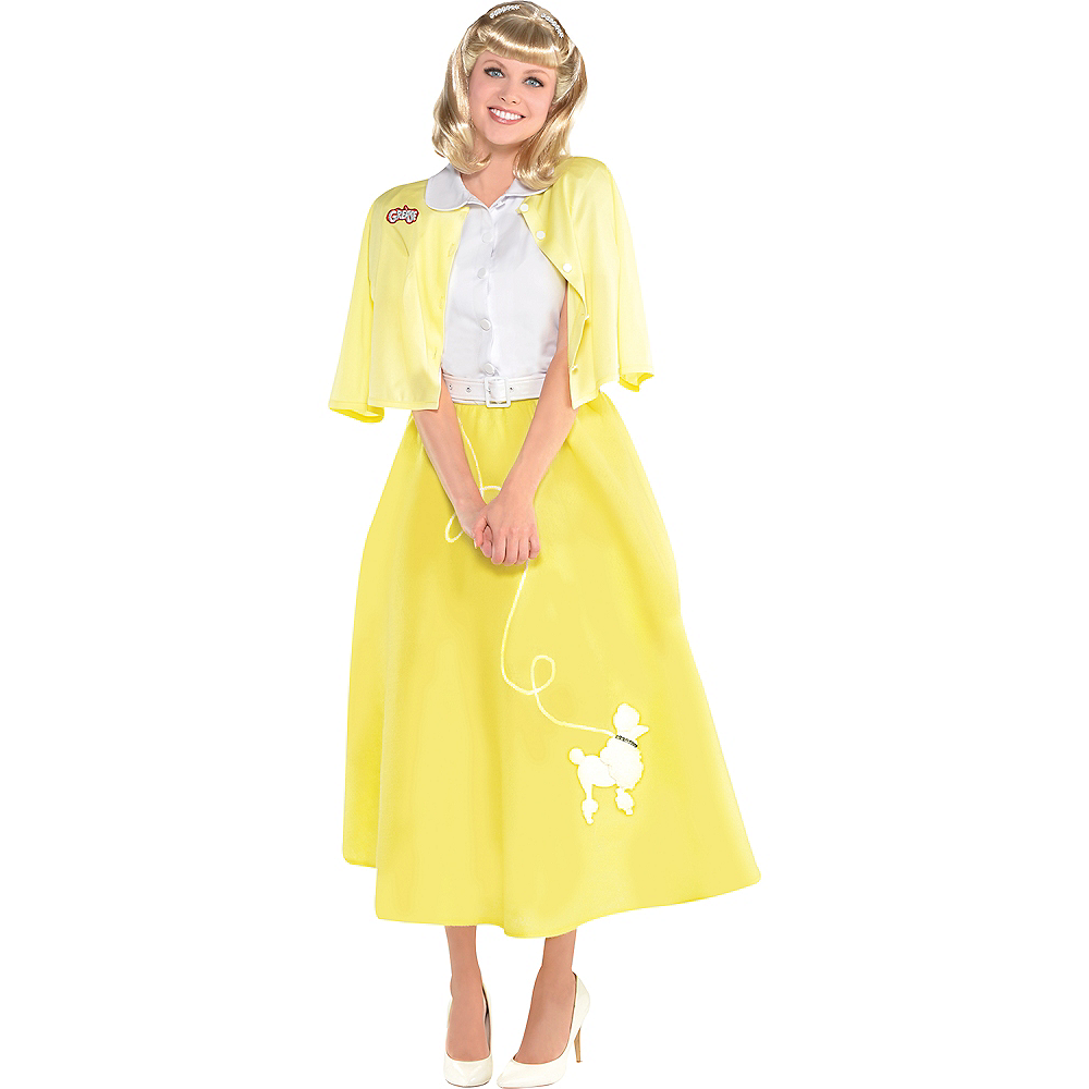 Womens Sandy Olsson Summer Nights Costume - Grease Image #1