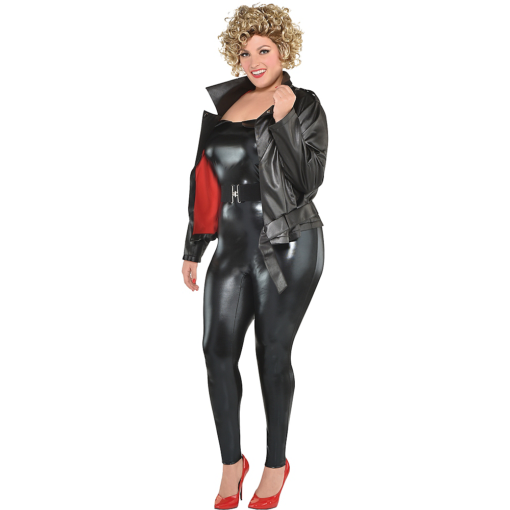 Womens Sandy Olsson Greaser Costume Plus Size - Grease Image #1