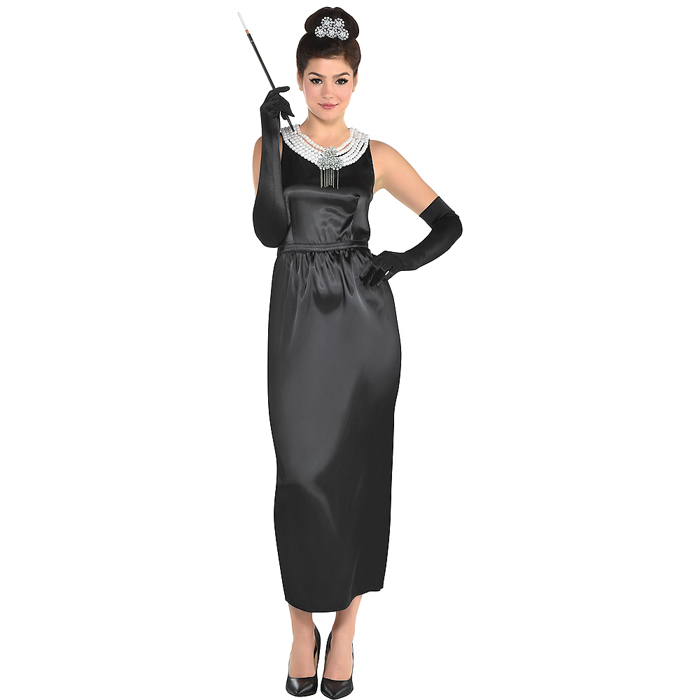 womens holly golightly costume breakfast at tiffany s party city