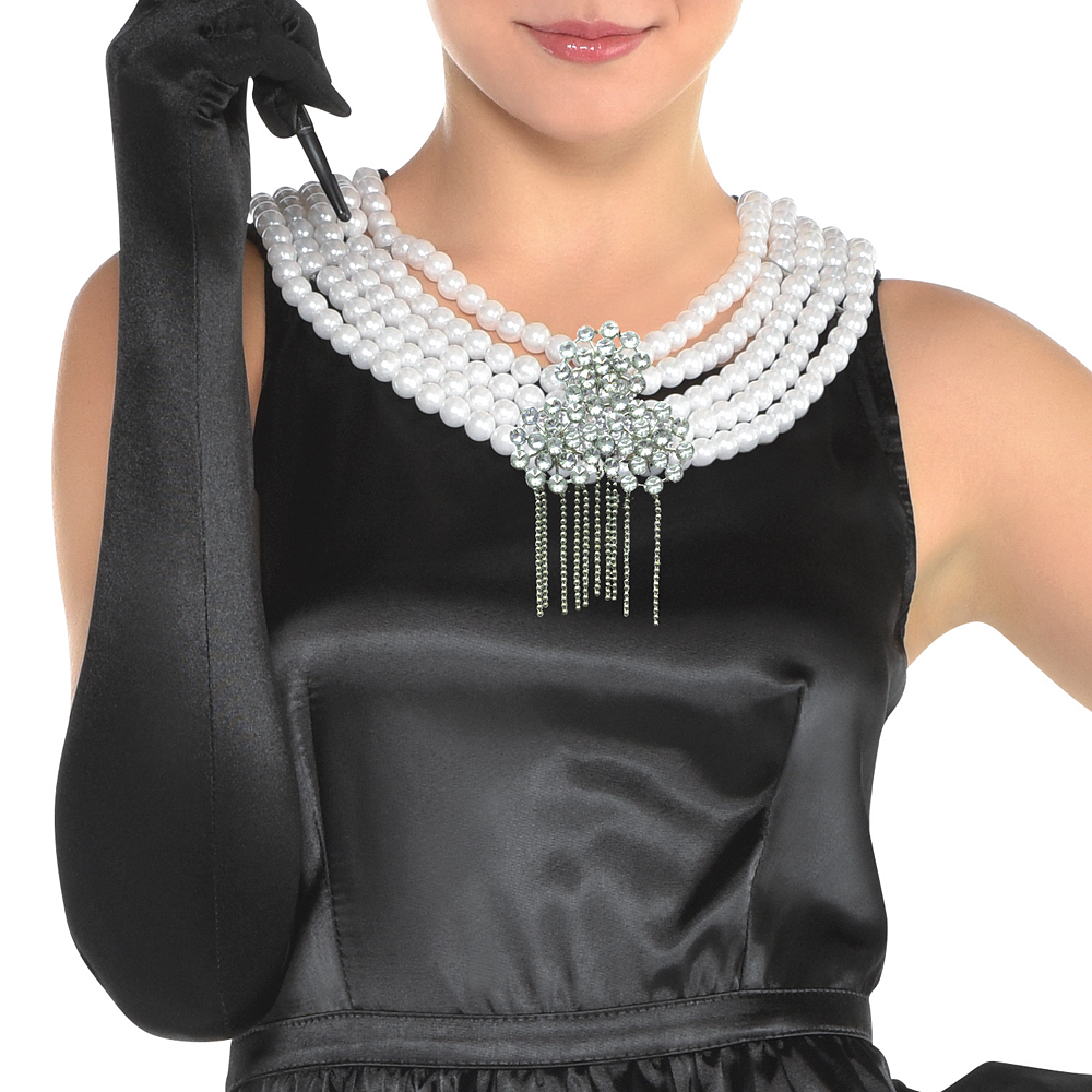 Womens Holly Golightly Costume - Breakfast at Tiffany's Image #3