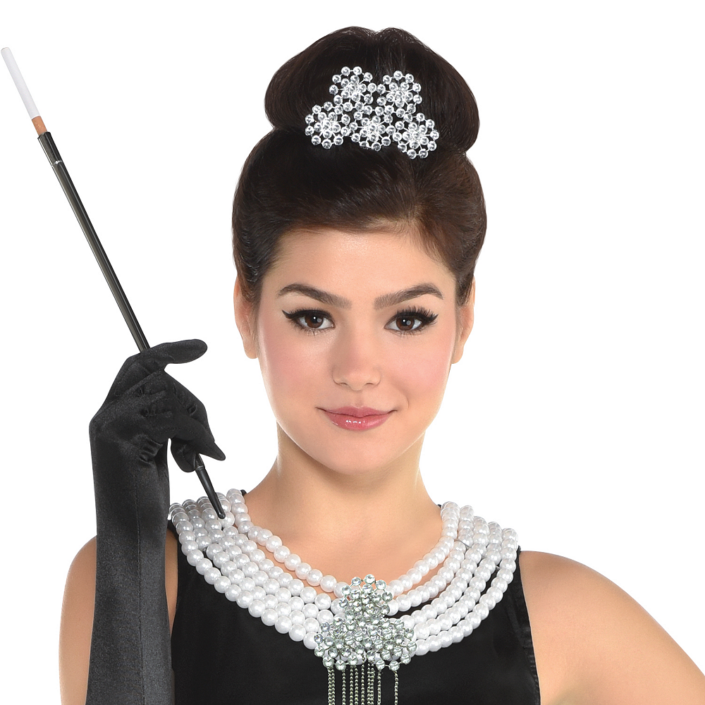 Womens Holly Golightly Costume - Breakfast at Tiffany's Image #4