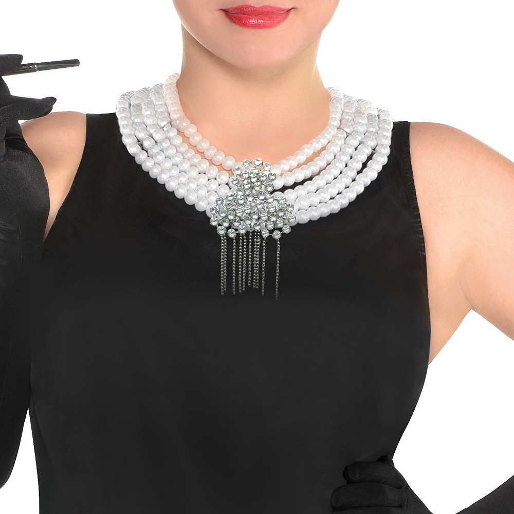 Womens Holly Golightly Costume Plus Size - Breakfast at Tiffany's Image #2