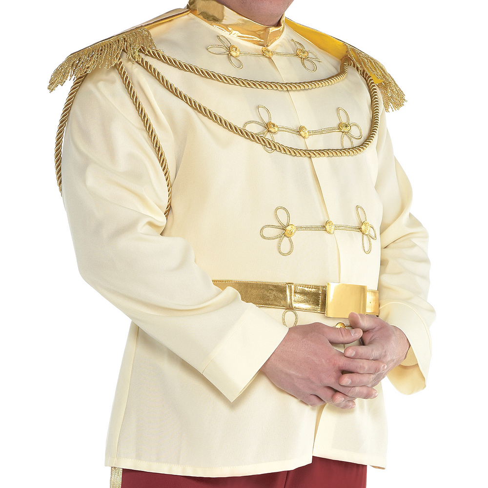 Nav Item for Mens Prince Charming Costume Plus Size - Cinderella Image #2