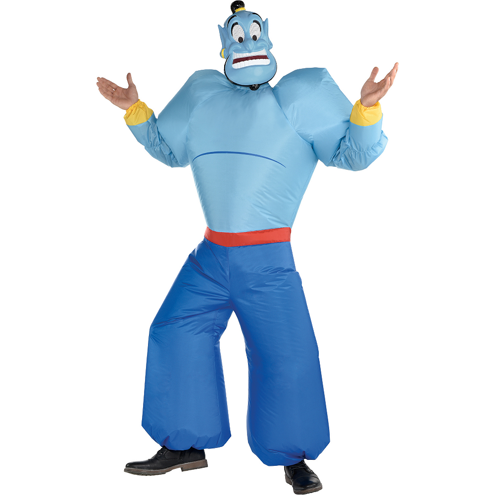 Adult Inflatable Genie Costume - Aladdin Image #1