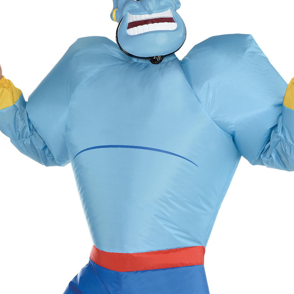 Adult Inflatable Genie Costume - Aladdin Image #3