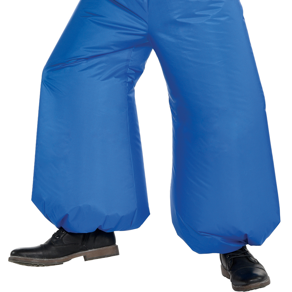 Adult Inflatable Genie Costume - Aladdin Image #4