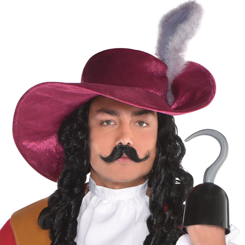 Mens Captain Hook Costume - Peter Pan Image #2