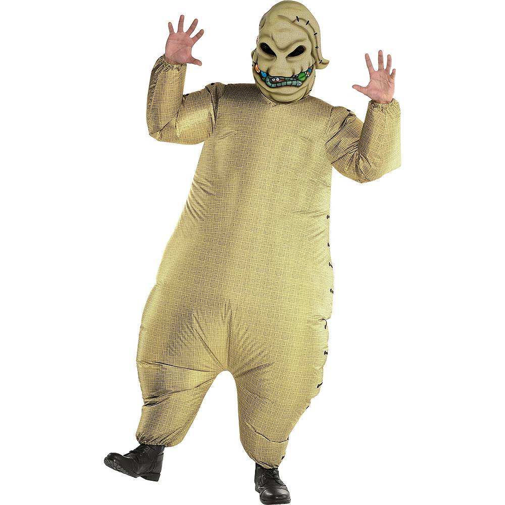 Adult Inflatable Oogie Boogie Costume - The Nightmare Before Christmas Image #1