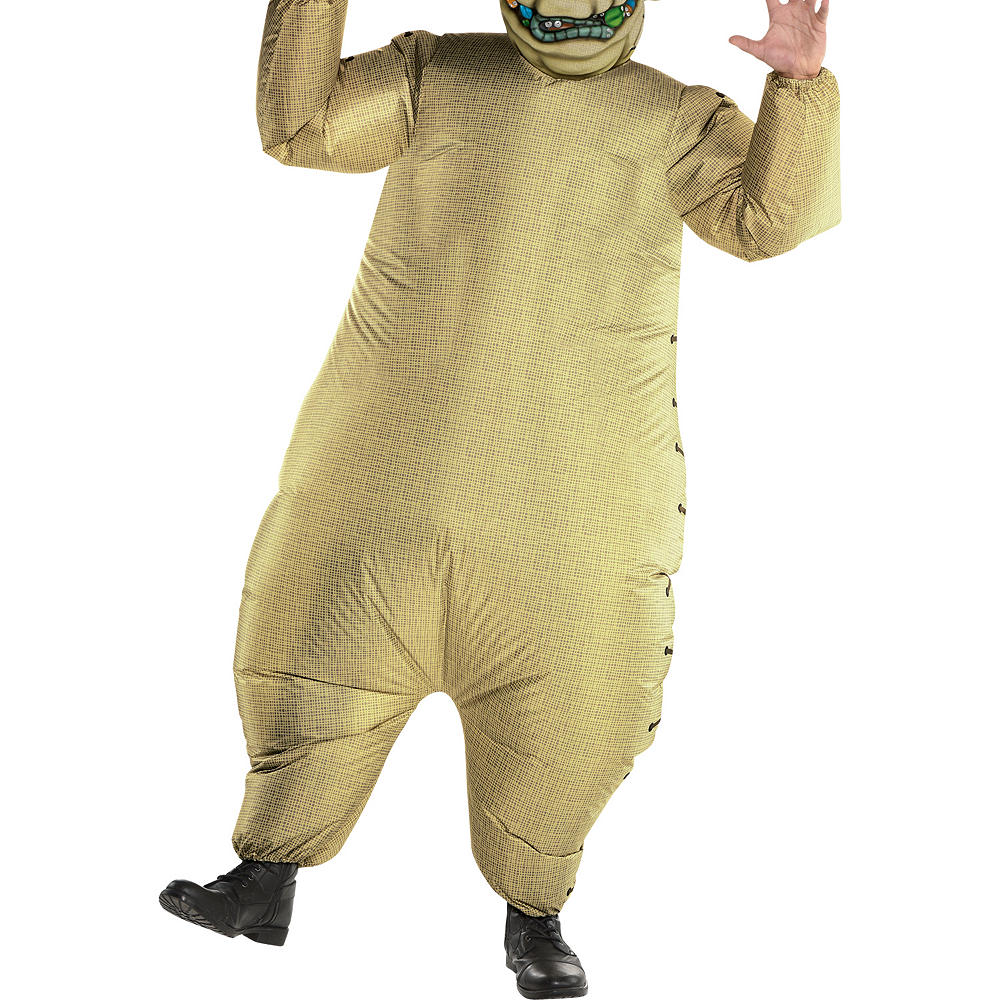 Adult Inflatable Oogie Boogie Costume - The Nightmare Before Christmas Image #3