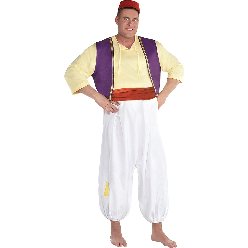 Nav Item for Mens Aladdin Costume Plus Size - Aladdin Image #1