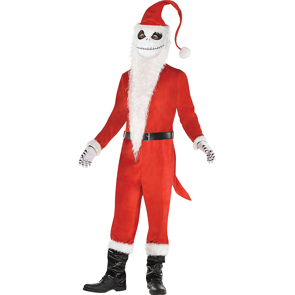 mens sandy claws costume the nightmare before christmas