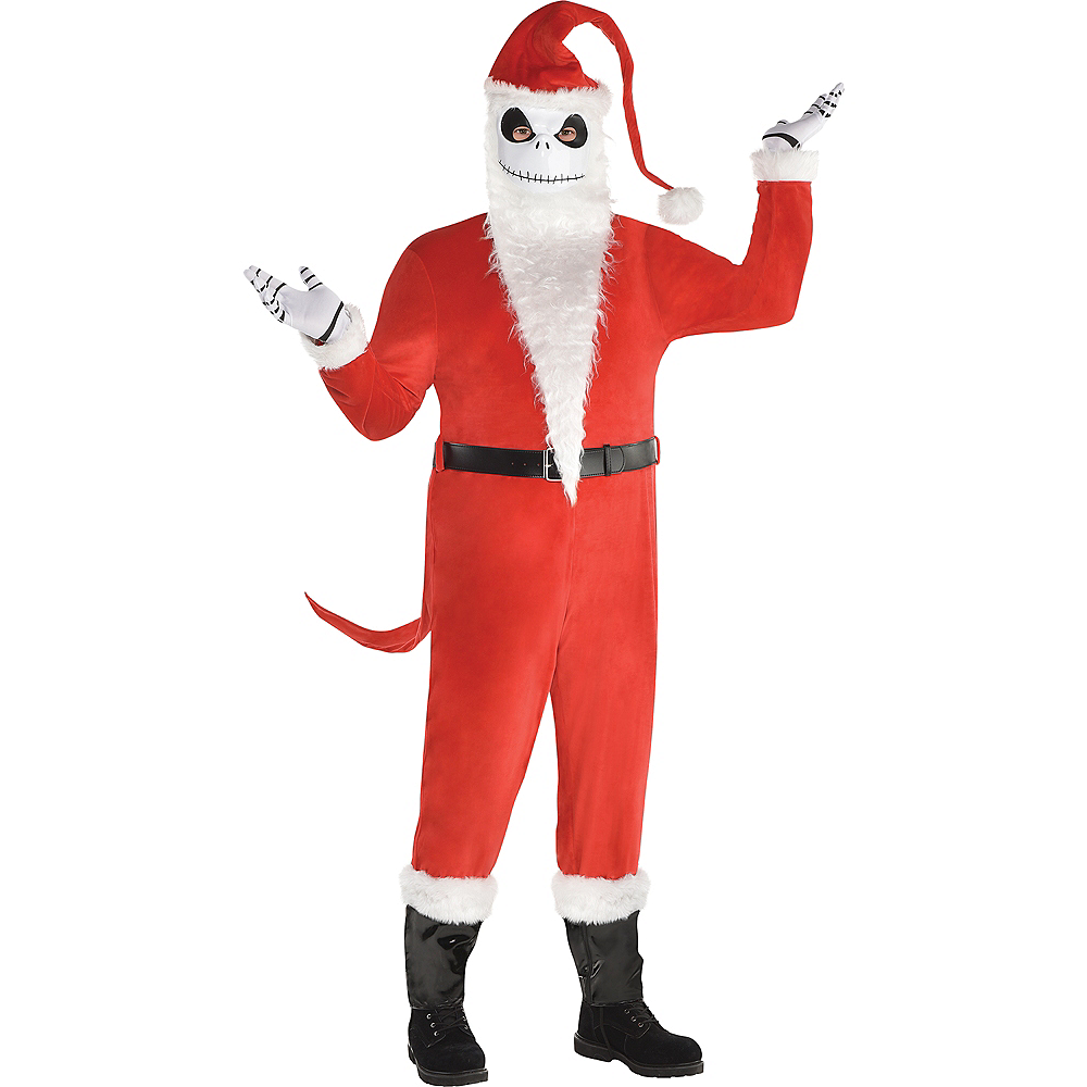mens sandy claws costume plus size the nightmare before christmas