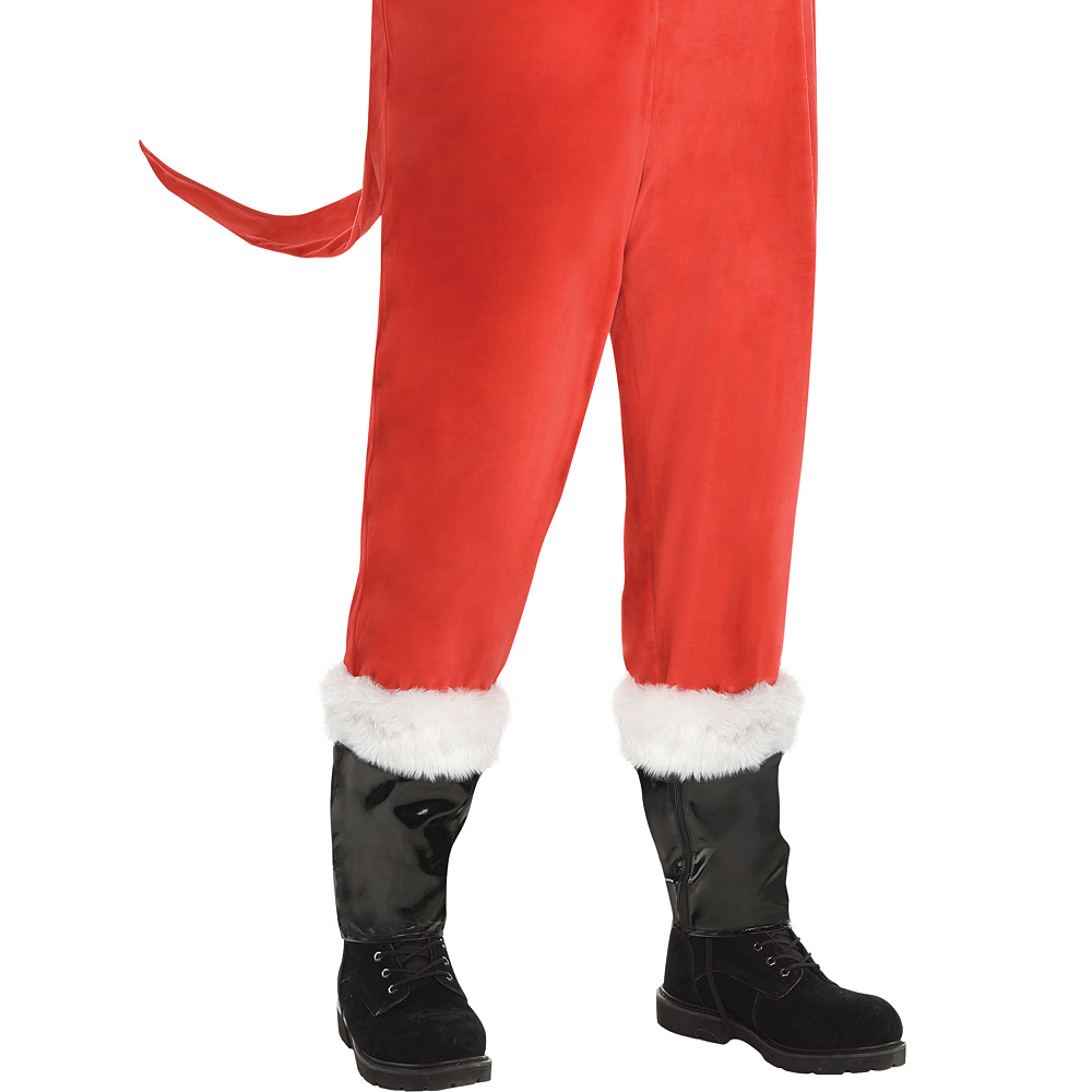 mens sandy claws costume plus size the nightmare before christmas image 4
