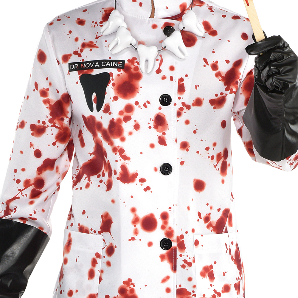 Mens Demented Dentist Costume Image #2