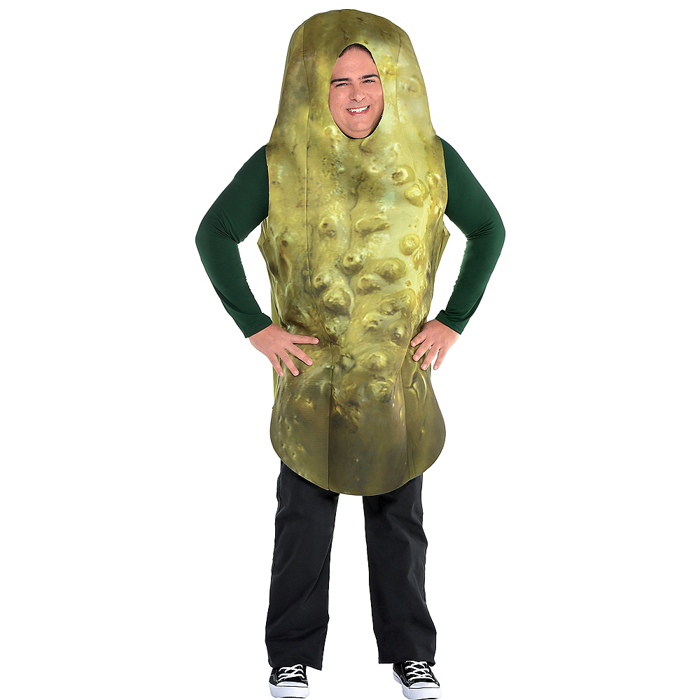 Adult Pickle Costume Plus Size Image #1