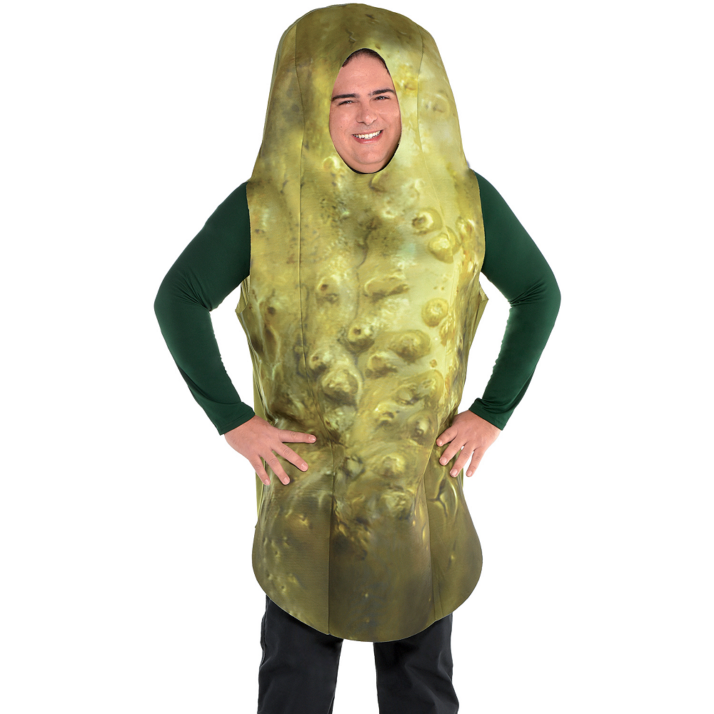 Adult Pickle Costume Plus Size Image #2