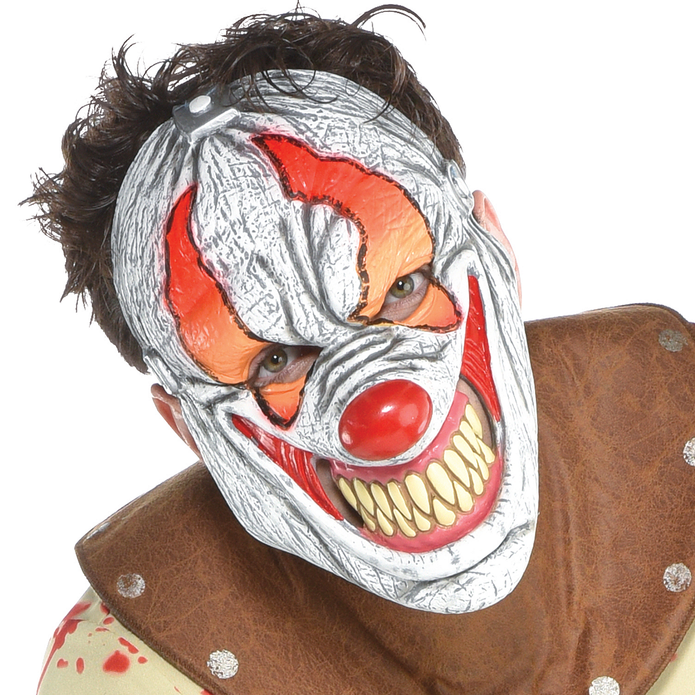 Mens Fun House Psycho Clown Costume Image #3