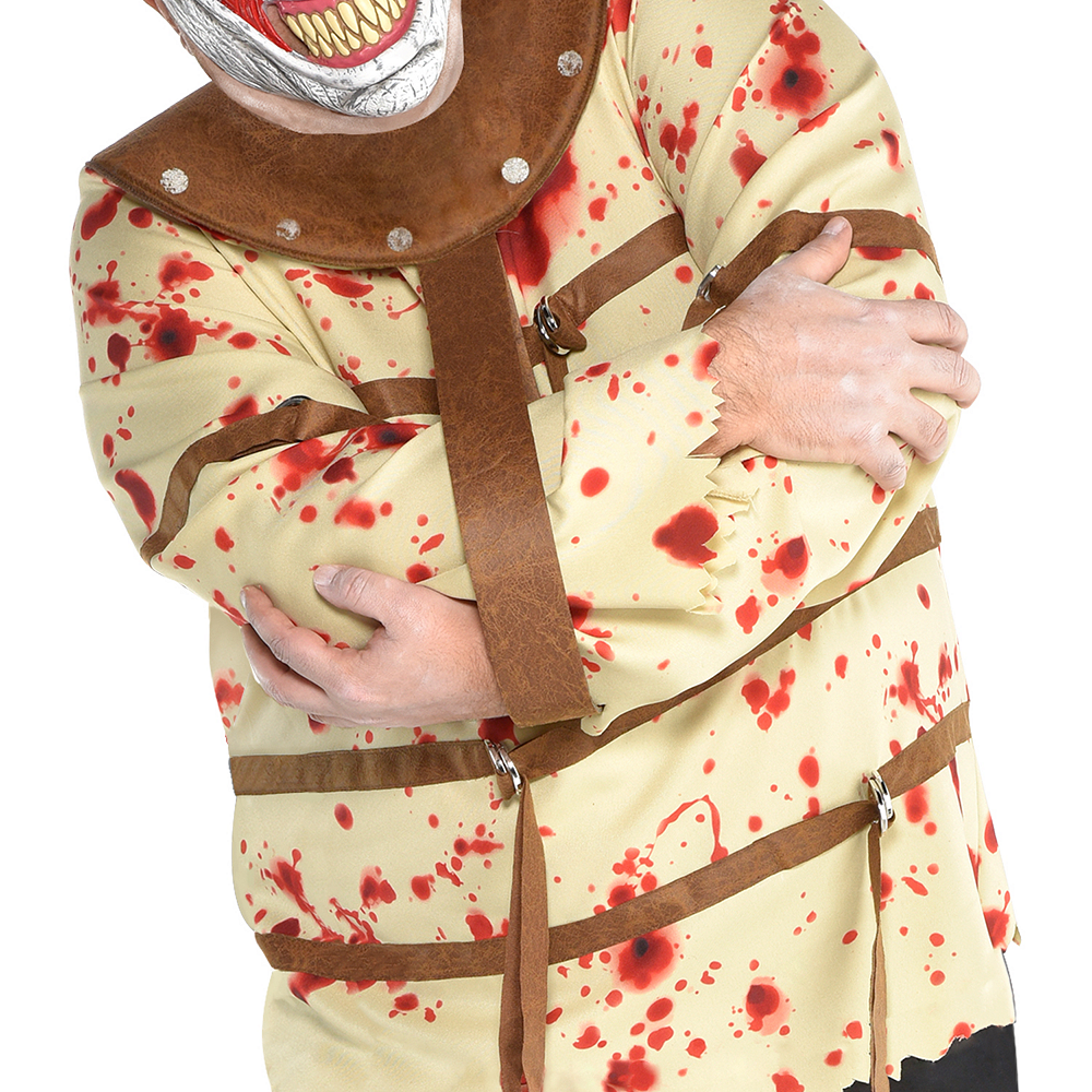 Nav Item for Mens Fun House Psycho Clown Costume Plus Size Image #2