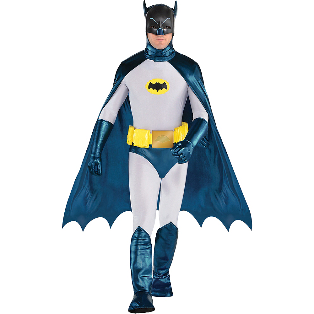 Nav Item for Mens Classic Batman Costume Image #1