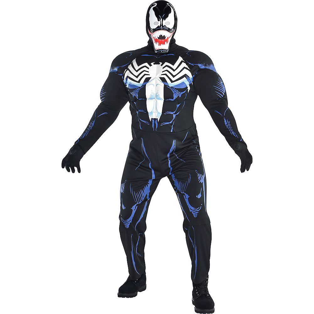Mens Venom Costume Plus Size Image #1