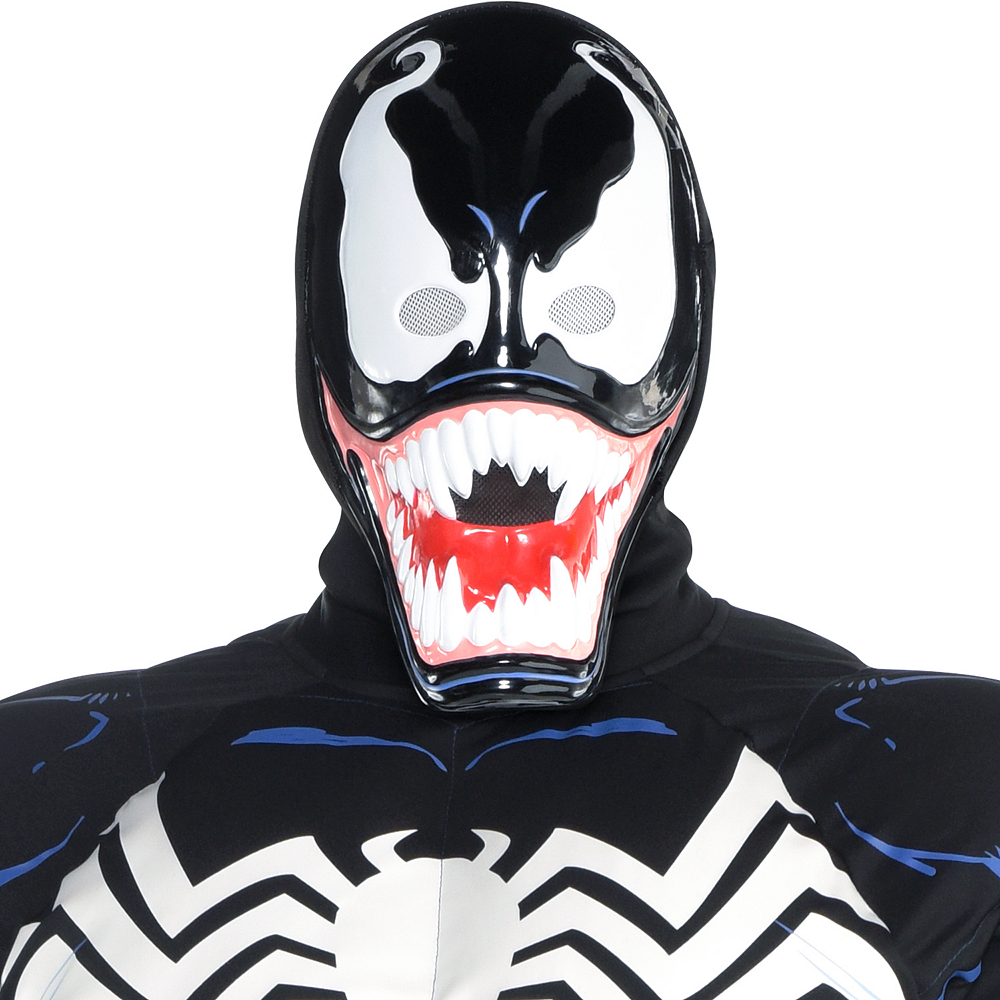 Mens Venom Costume Plus Size Image #4