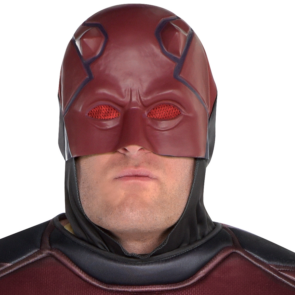 Mens Daredevil Costume Plus Size Image #2