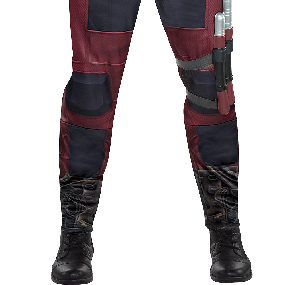 Mens Daredevil Costume Plus Size Image #4
