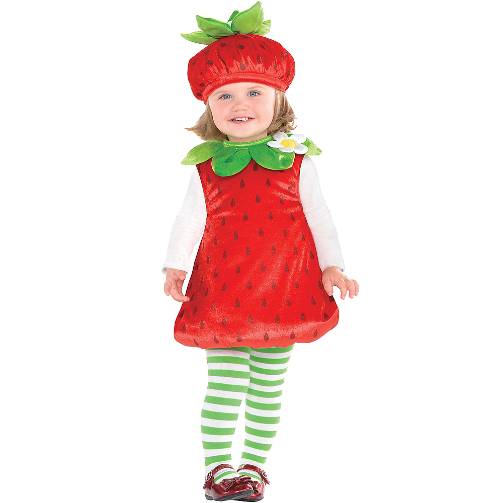 Baby Strawberry Costume Image #1