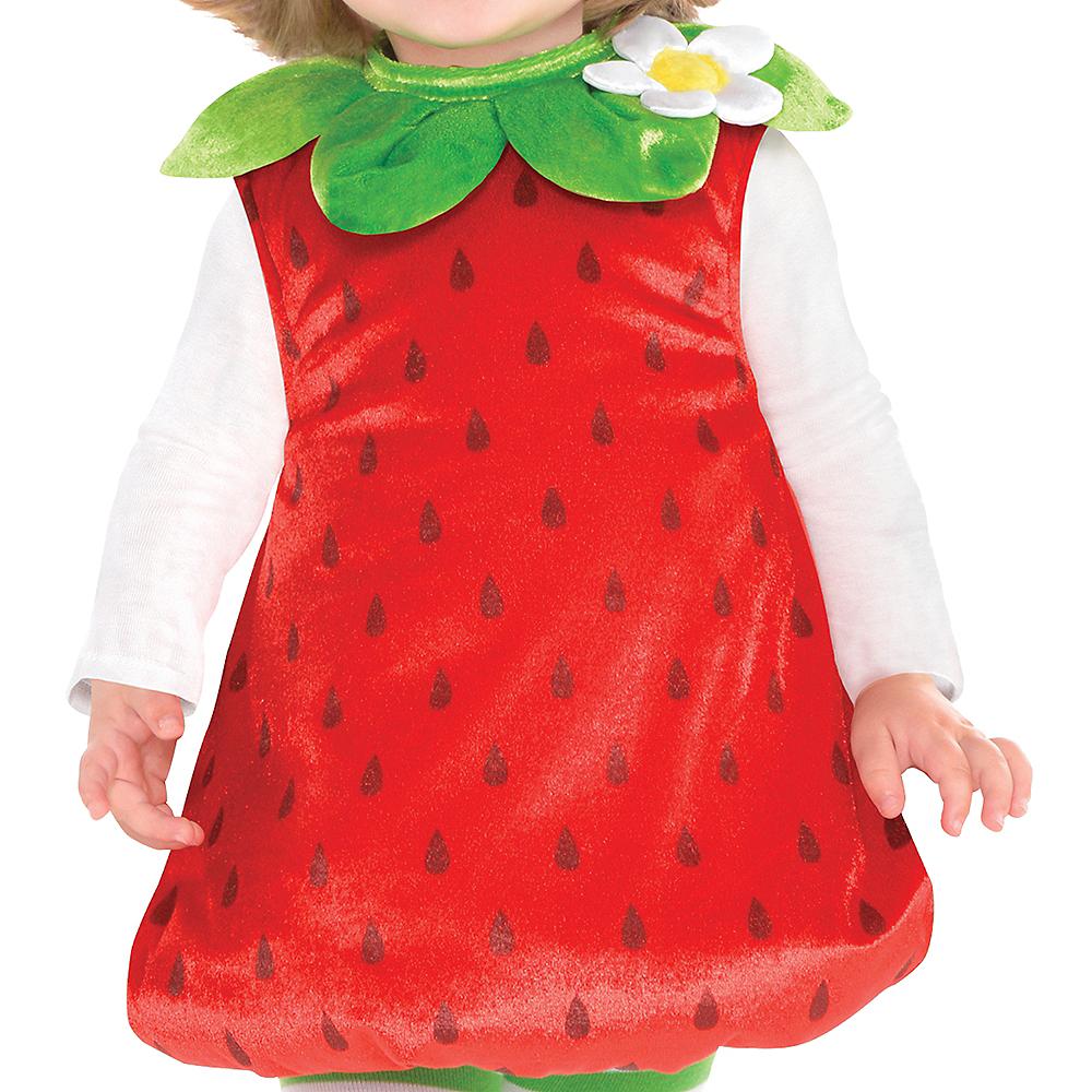 Baby Strawberry Costume Image #3