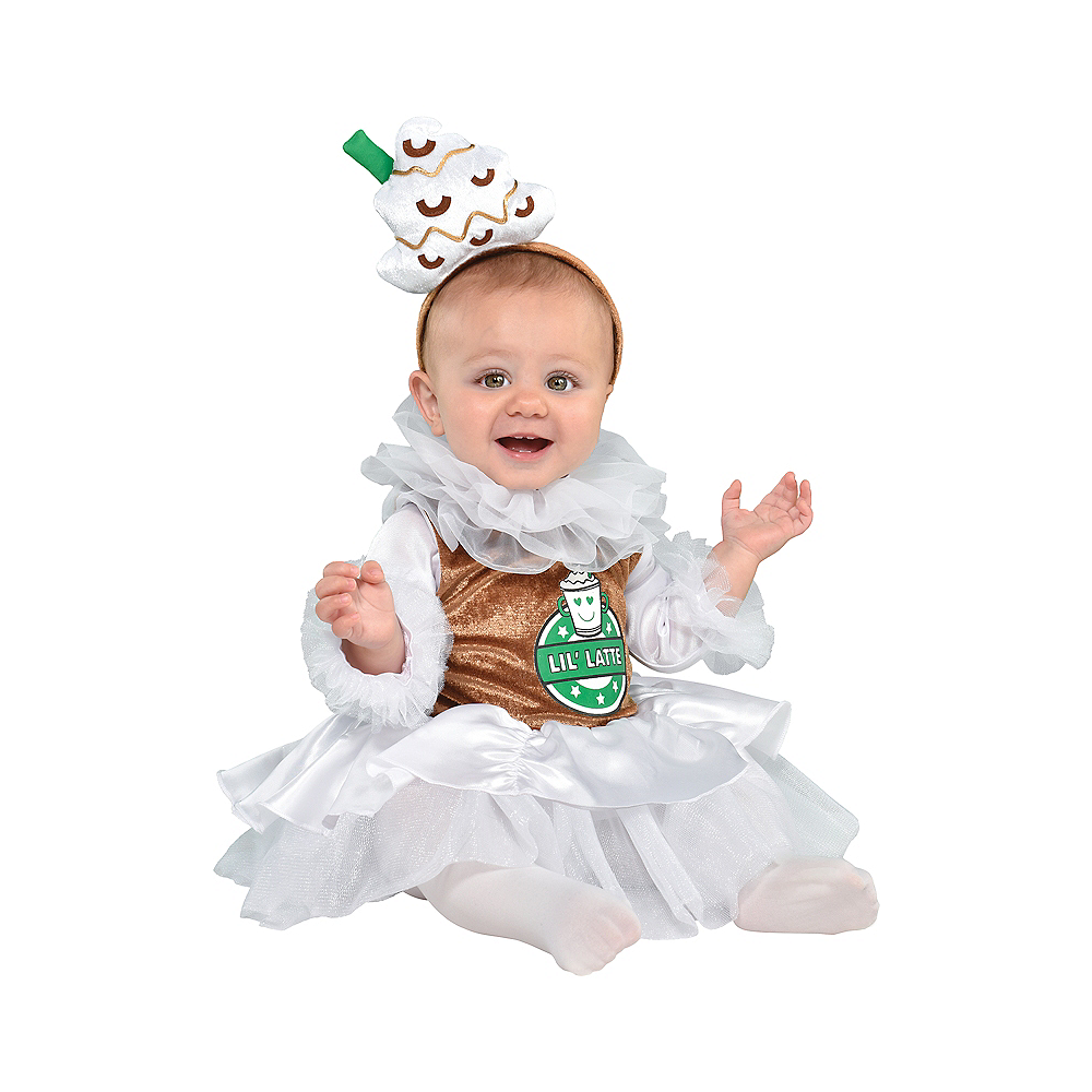 Baby Barista Coffee Costume Image #1