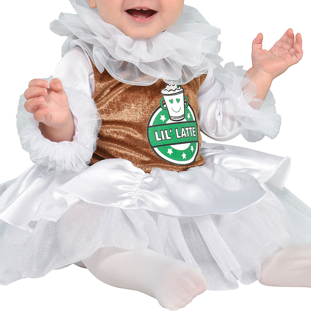 Baby Barista Coffee Costume Image #4