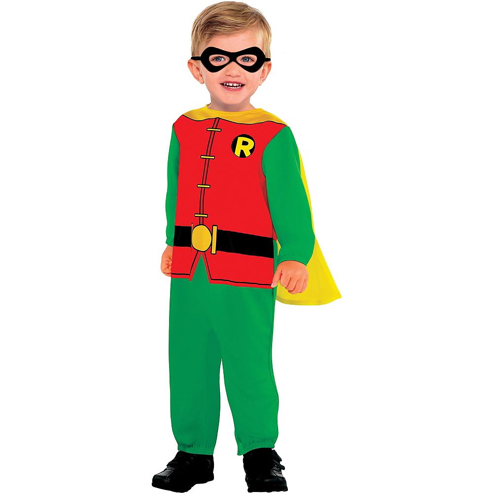 Baby Classic Robin Costume - Batman Image #1