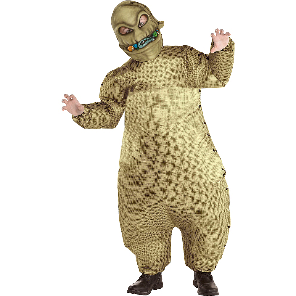 child inflatable oogie boogie costume the nightmare before christmas